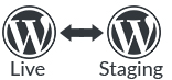 WordPress Staging Area