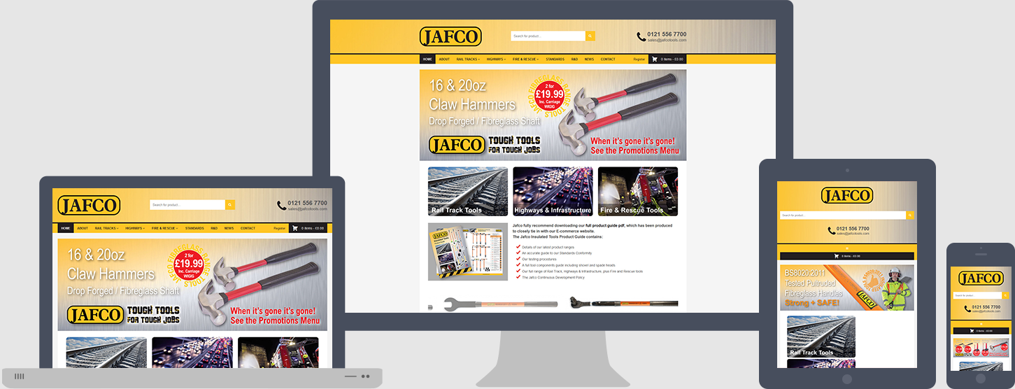 Jafco Website Design