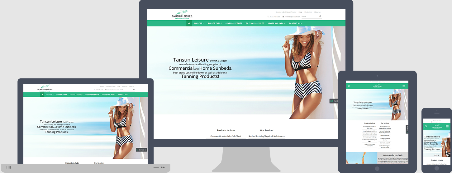 Tansun Website Design